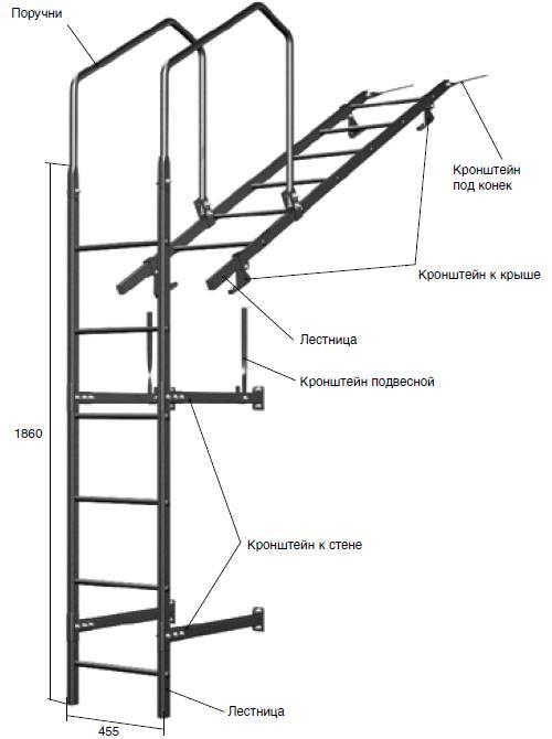 Лестницы служат для